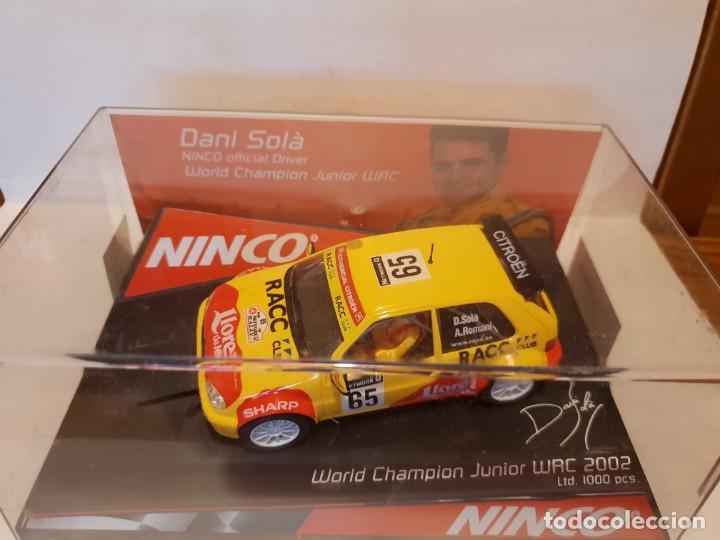 CITROEN SAXO DE NINCO REF.-50292 (Juguetes - Slot Cars - Ninco)