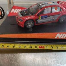 Slot Cars: COCHE SCALEXTRIC DE NINCO MITSUBISHI LANCER WRC 2005 AUSTRALIA. GIGI GALLI. REF. 50378. Lote 210156296