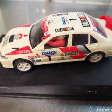 Slot Cars: COCHE SCALEXTRIC DE NINCO MITSUBISHI LANCER WRC COSTA BRAVA 1998. REF. 6000. Lote 210237761