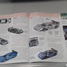 Slot Cars: MERCEDES CLK GTR - FICHA TECNICA +FICHA DEL MODELO NINCO- 6 PAG. Lote 210430860