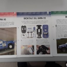 Slot Cars: BMW X5 X-RAID- FICHA TECNICA +FICHA DEL MODELO NINCO + FICHA MONTAJE- 8 PAG. Lote 210430917