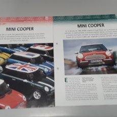 Slot Cars: MINI COOPER- FICHA TECNICA +FICHA DEL MODELO NINCO- 6 PAG. Lote 210431041