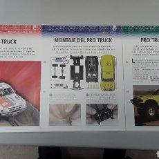 Slot Cars: -FORD PRO TRUCK- FICHA TECNICA +FICHA DEL MODELO NINCO+ FICHA DE MONTAJE -8 PAG. Lote 210431103