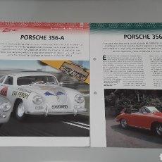 Slot Cars: -PORSCHE 365 A - FICHA TECNICA +FICHA DEL MODELO NINCO-6 PAG. Lote 210431465