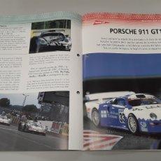 Slot Cars: -PORSCHE 911 GT1- FICHA TECNICA +FICHA DEL MODELO NINCO-6 PÁGINAS. Lote 210440197