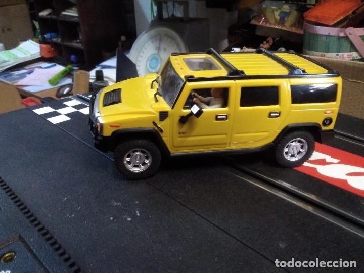 Slot Cars: Coche de ninco hammer a2 amarillo sin caja - Foto 2 - 210612505