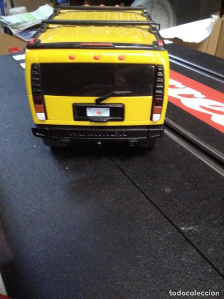 Slot Cars: Coche de ninco hammer a2 amarillo sin caja - Foto 3 - 210612505