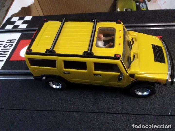 Slot Cars: Coche de ninco hammer a2 amarillo sin caja - Foto 4 - 210612505