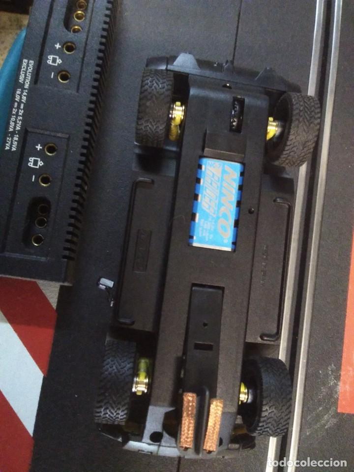 Slot Cars: Coche de ninco hammer a2 amarillo sin caja - Foto 5 - 210612505
