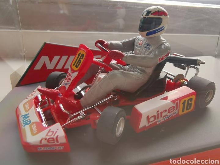 Slot Cars: Coche scalextric de Ninco Kart Birel, nº16 ref. 50421. Nuevo. Precintado - Foto 3 - 210633576