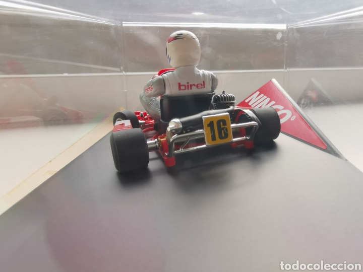 Slot Cars: Coche scalextric de Ninco Kart Birel, nº16 ref. 50421. Nuevo. Precintado - Foto 8 - 210633576