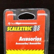 Slot Cars: GUÍA CON TRENCILLAS DE TECNITOYS REF. 8763. Lote 210768859