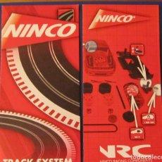 Slot Cars: NINCO ORIGINAL: DESPLEGABLES RACING COMPONENETES Y TRACK SYSTEM OTRO MODELO. Lote 211274992