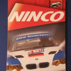 Slot Cars: NINCO ORIGINAL: DESPLEGABLE AÑO 2002. Lote 211275246