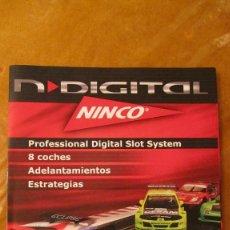 Slot Cars: NINCO ORIGINAL: CATALOGO TAMAÑO FOLIO NINCO DIGITAL. Lote 211468921