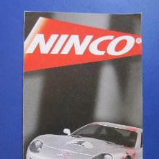 Slot Cars: NINCO ORIGINAL: CATALOGO DESPLEGABLE 2001. Lote 212063760