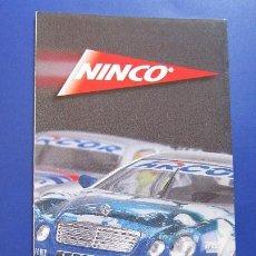 Slot Cars: NINCO ORIGINAL: CATALOGO DESPLEGABLE 2001 (OTRO). Lote 212063867