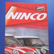 Slot Cars: NINCO ORIGINAL: CATALOGO DESPLEGABLE 2002. Lote 212153481