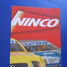 Slot Cars: NINCO ORIGINAL: CATALOGO DESPLEGABLE 2002 (OTRO). Lote 212153570