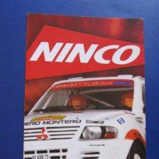 Slot Cars: NINCO ORIGINAL: CATALOGO DESPLEGABLE 2003. Lote 212153717