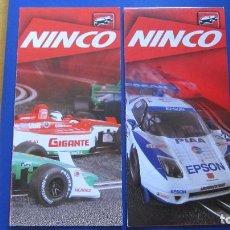 Slot Cars: NINCO ORIGINAL: 2 CATALOGOS DESPLEGABLES (OTROS). Lote 212253253