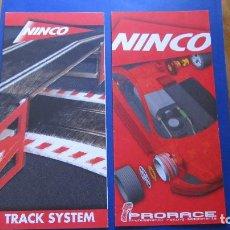Slot Cars: NINCO ORIGINAL: TRACKS SYSTEM Y PRORACE. Lote 212344551