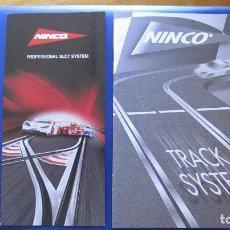 Slot Cars: NINCO ORIGINAL: CATALOGOS TRACK SYYSTEM B/N ,PROFESSIONAL SLOT. Lote 212754308