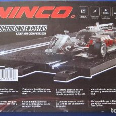 Slot Cars: NINCO ORIGINAL: CATALOGO GENERAL , PAGINAS. Lote 212762678