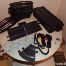 Slot Cars: NINCO LOTE DE 38 PISTAS, Y 6 VALLAS, 2 MANDOS. Lote 214653060