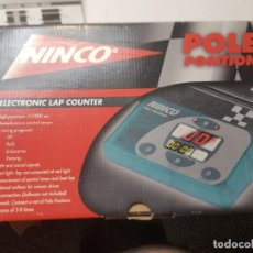 Slot Cars: NINCO POLE POSITION ELECTRONIC LAP COUNTER EN BLISTER SIN USO. Lote 217853666
