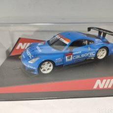 Slot Cars: NINCO NISSAN 350Z CALSONIC REF. 50417. Lote 217879077