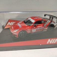 Slot Cars: NINCO NISSAN 350Z XANAVI REF. 50422. Lote 218238905