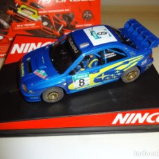 "Slot Cars: NINCO. SUBARU WRC""NEW ZEALAND 03"" PRORACE. REF. 50328. Lote 219057413"