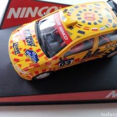 Slot Cars: COCHE SCALEXTRIC DE NINCO FIAT PUNTO RALLY COSTA BRAVA CATALUNYA 2003 NUEVO. Lote 219172285