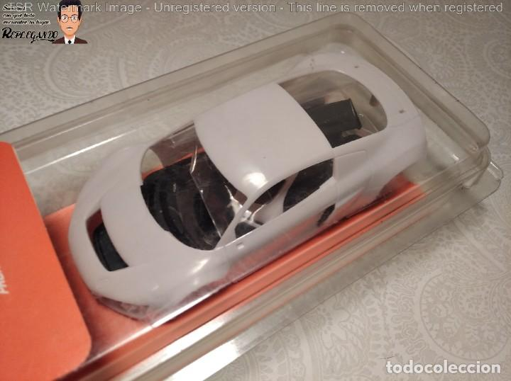 Slot Cars: CARROCERÍA NINCO PRORACE EVO - AUDI R8 GT3 - REFERENCIA: 80888 - COCHE SLOT - - Foto 6 - 219265795