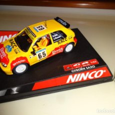 Slot Cars: NINCO. CITROEN SAXO JWRC RACC. DANI SOLA. REF. 50266. Lote 219580885