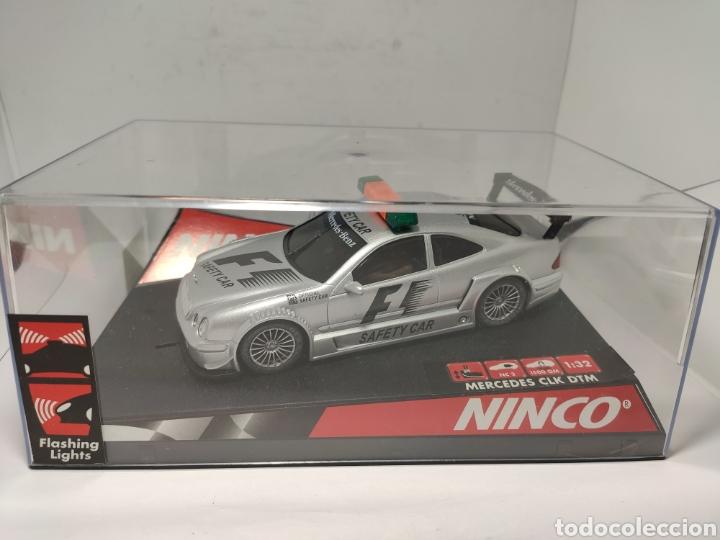 NINCO MERCEDES CLK SAFETY CAR F1 REF. 50282 (Juguetes - Slot Cars - Ninco)