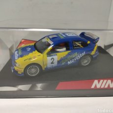 Slot Cars: NINCO SEAT CÓRDOBA WRC TELEFÓNICA 4WD REF. 50249. Lote 220066585