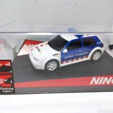 Slot Cars: NINCO VW GOLF MOSSOS D'ESQUADRA REF. 50320. Lote 253990685