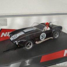 Slot Cars: NINCO AC COBRA BLACK. Lote 220878088