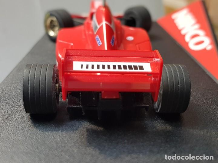 Slot Cars: Coche Slot Car Ferrari F 310 B de Ninco en blister original made in Spain - Foto 4 - 221307240