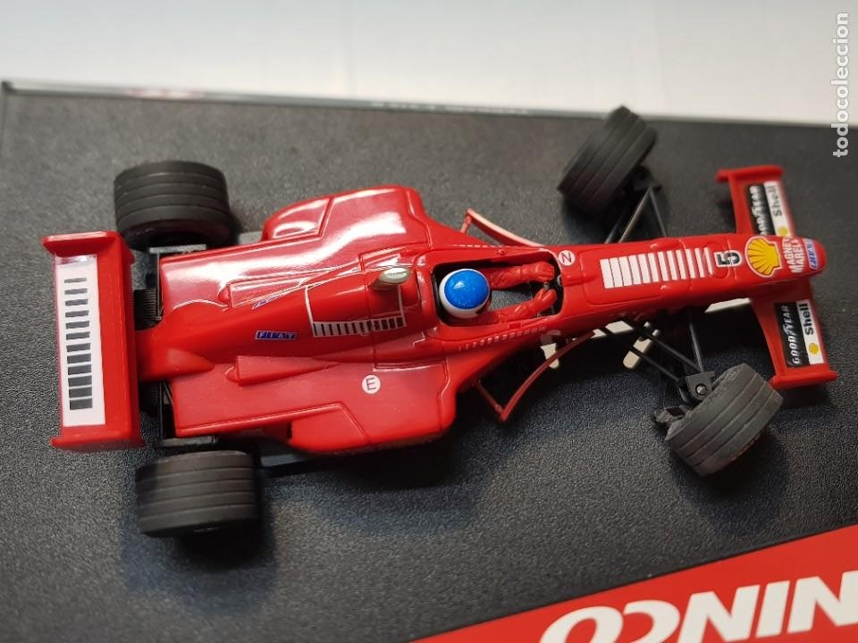 Slot Cars: Coche Slot Car Ferrari F 310 B de Ninco en blister original made in Spain - Foto 5 - 221307240