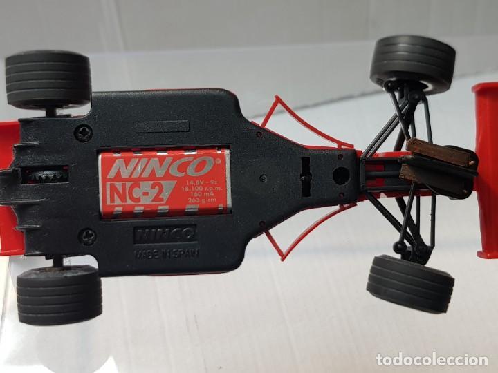 Slot Cars: Coche Slot Car Ferrari F 310 B de Ninco en blister original made in Spain - Foto 7 - 221307240
