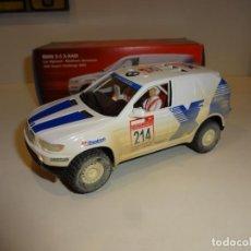 Slot Cars: NINCO. BMW X5 X-RAID. DESERT CHALLENGE 2002. EFECTO BARRO. Lote 222097653