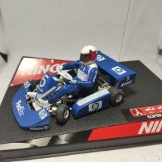 Slot Cars: NINCO SUPER KART F1 HP REF. 50285. Lote 222271441