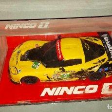 Slot Cars: SCALEXTRIC NINCO CHEVROLET CORVETTE C6-R DE SCX. Lote 222810876