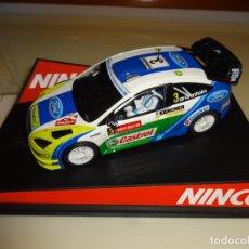 Slot Cars: NINCO. FORD FOCUS WRC. REF. 50439. Lote 222854307