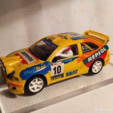Slot Cars: SEAT CORDOBA WRC PIERO LIATTI DE NINCO. Lote 222875826