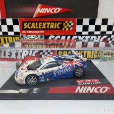 "Slot Cars: MC LAREN F1 GTR "" FINA "" #38 NINCO SCALEXTRIC. Lote 223686381"
