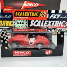 "Slot Cars: FERRARI 250 TR "" TESTA ROSSA"" 1957 # 18 NINCO SCALEXTRIC. Lote 223715686"